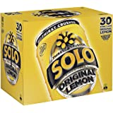 Solo Lemon Soft Drink, 30 x 375ml
