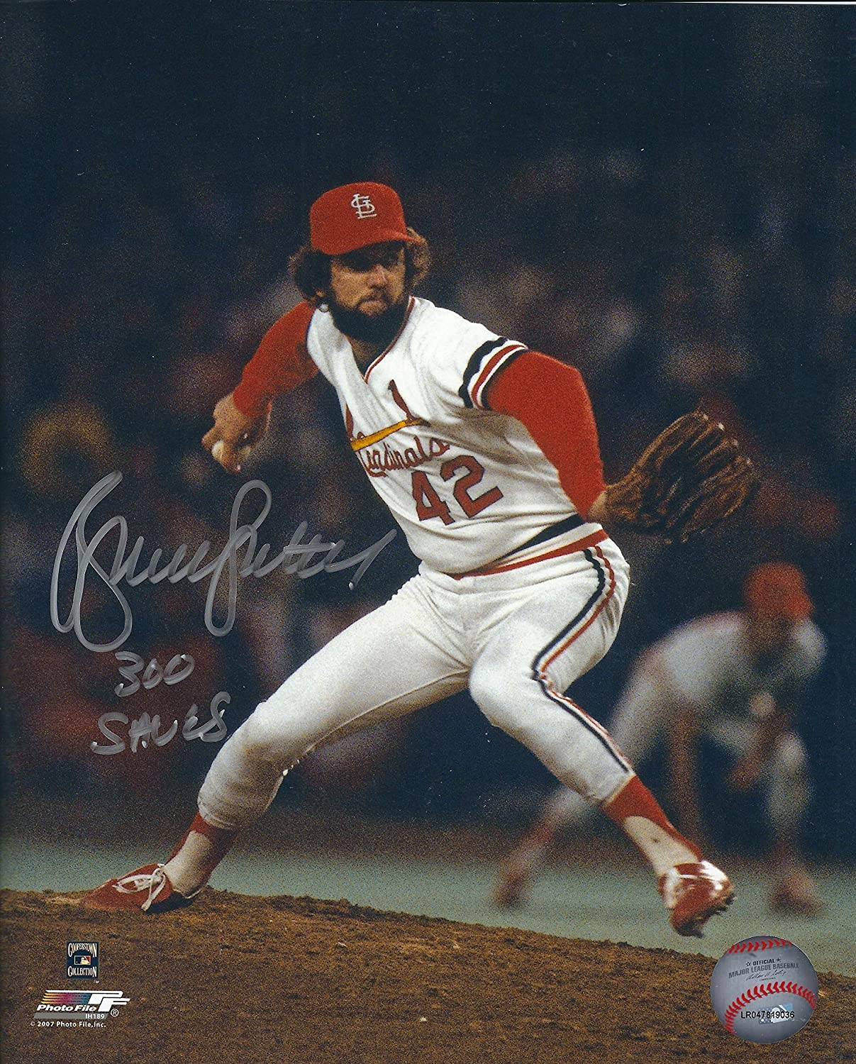 10374e3ee2e Amazon.com  Autographed Hof R Bruce Sutter 8x10 St. Louis Cardinals Photo   Sports Collectibles