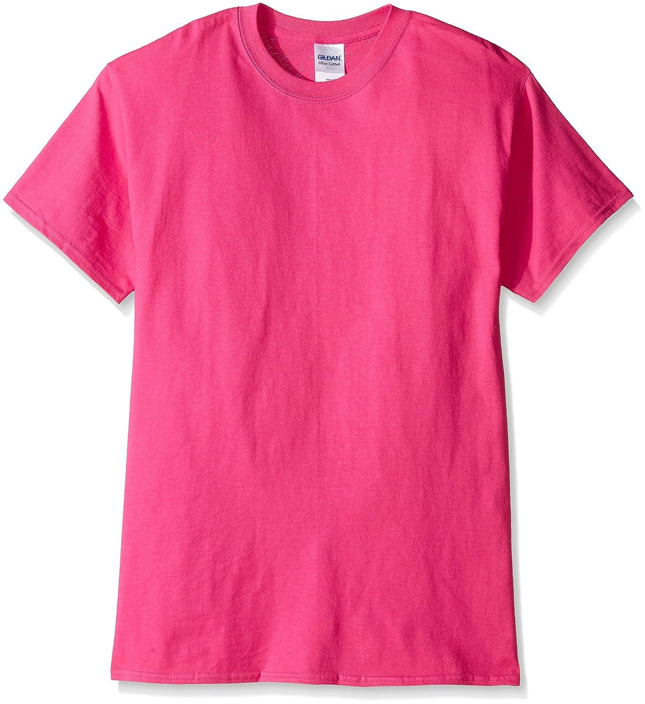 (ギルダン) Gildan メンズ ウルトラコットン クルーネック 半袖Tシャツ トップス 半袖カットソー 定番アイテム 男性用 B014WBTPQC 5L|ヘリコニア ヘリコニア 5L