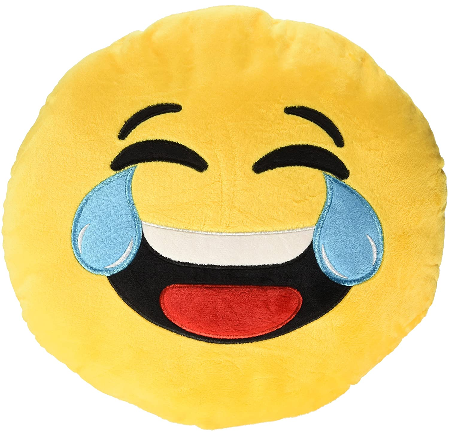 Out of the blue kg–emotion Faces Coussin 30cm rires