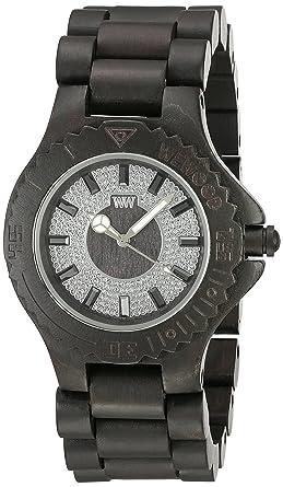 : Wewood Men's Sargas Wood Wooden Watch (Black