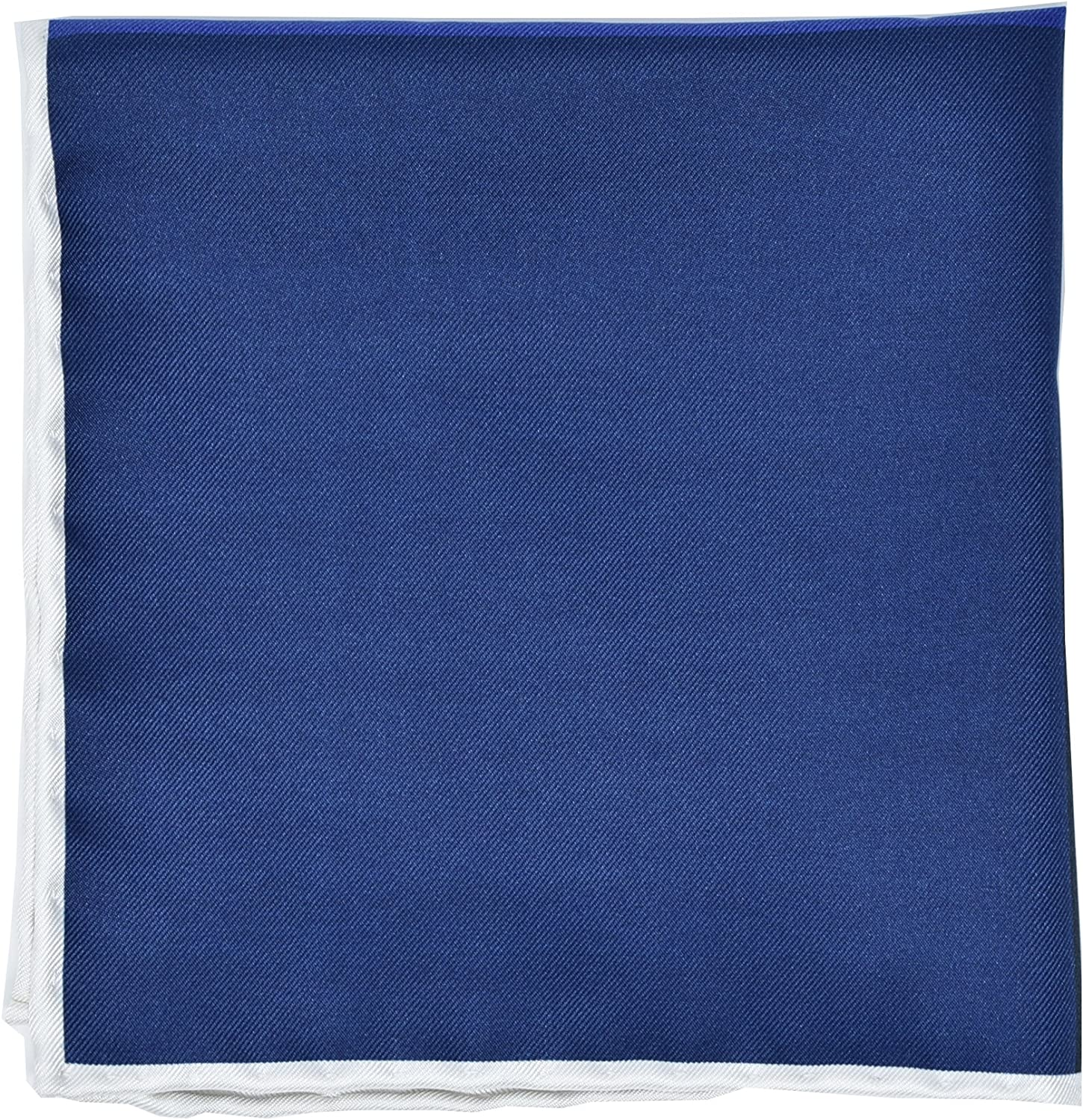 Kingsquare 100/% Silk Check Pocket Square Hand Rolled with Gift Box