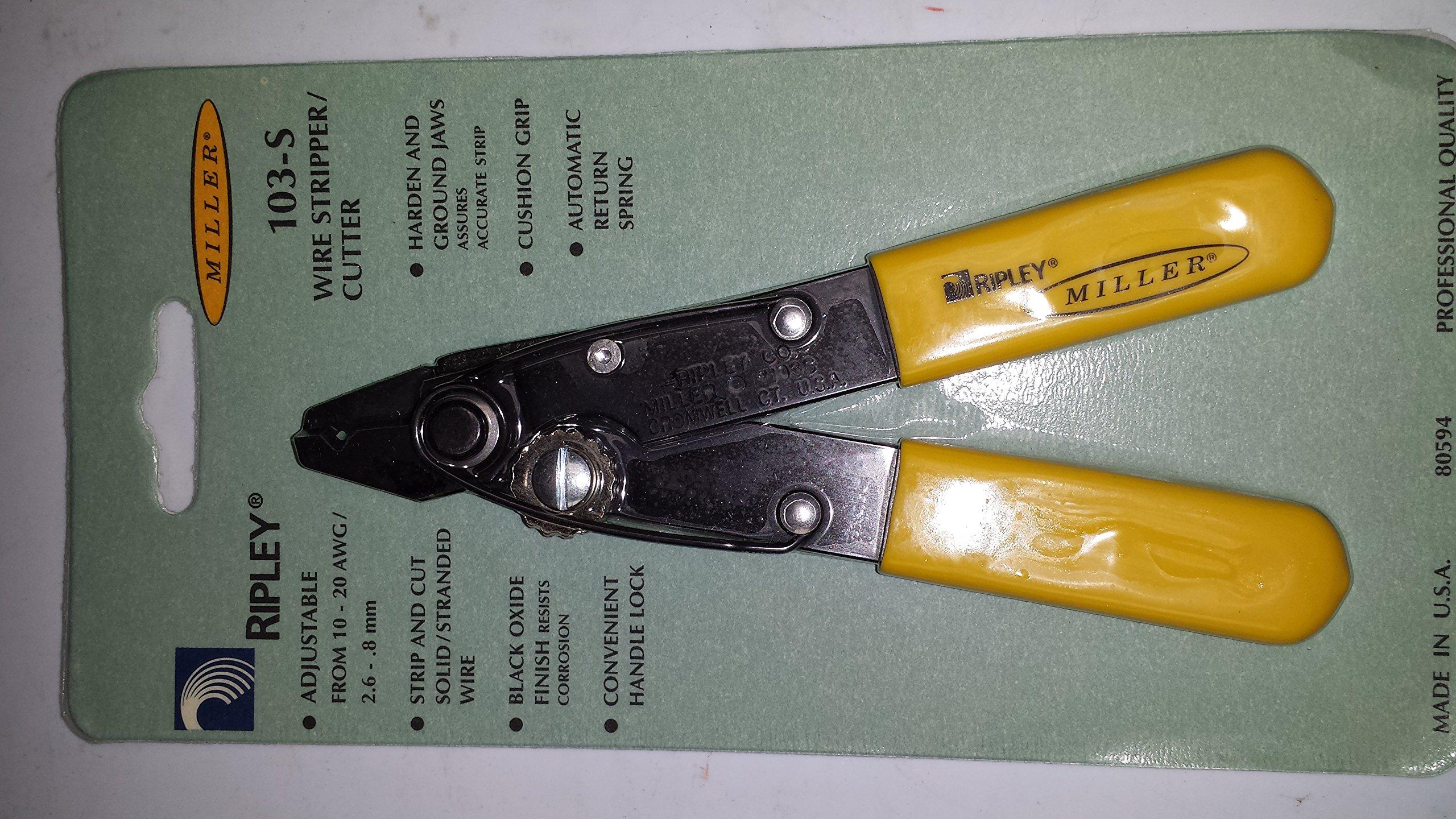 No. 103S Miller Wire Stripper & Cutter, Made in USA