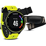 Garmin Forerunner 230 HR GPS-Laufuhr inkl. Herzfrequenz-Brustgurt - 16 STD. Akkulaufzeit, Smart Notifications
