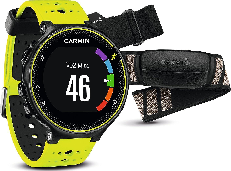 Garmin Forerunner 230 - Pack con reloj de carreja y pulsometro premium