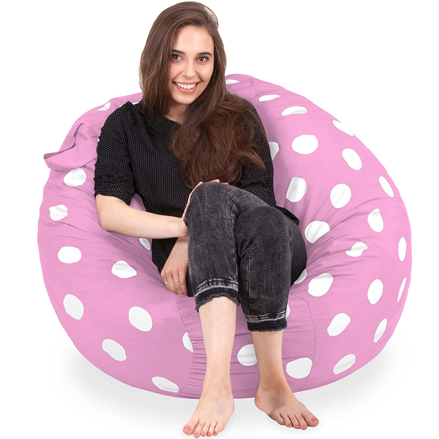 Amazon King Sized Bean Bag Chair in Lavender New King Size