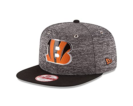 e6d74f98 New Era NFL Cincinnati Bengals 2016 Draft 9Fifty Snapback Cap, One Size,  Heather Gray