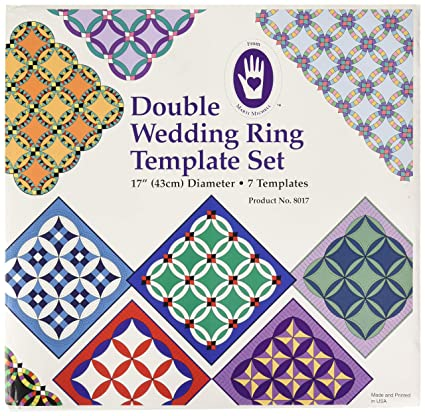 Double Wedding Ring Quilt Pattern.Marti Michell 4336997437 Double Wedding Ring Template