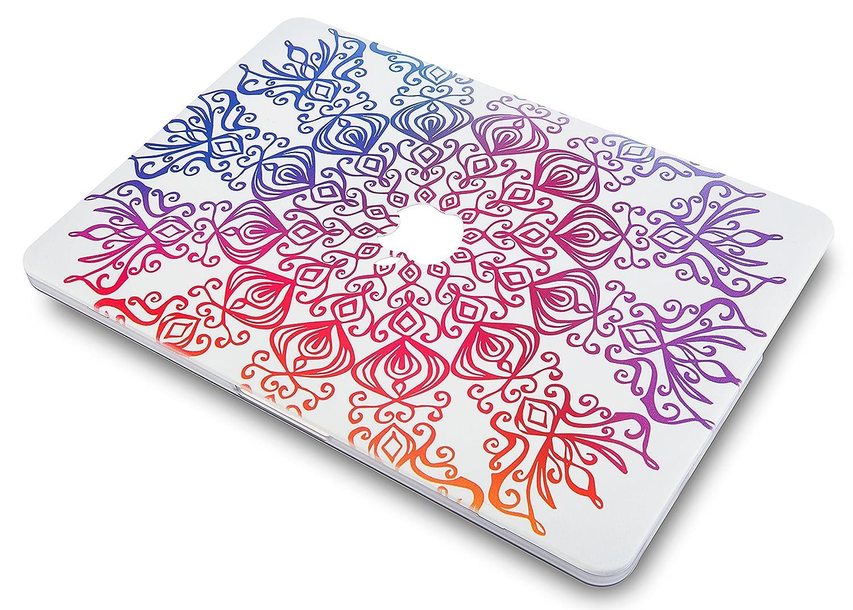 2019//2018//2017//2016, Touch Bar Bois Fissur/é KECC MacBook Pro 15 Coque Rigide Case Cover pour MacBook Pro 15.4 {A1990//A1707}
