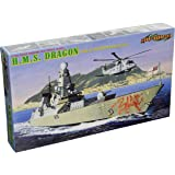 Dragon/CyberHobby 1:700 Scale HMS Dragon Type 45 Destroyer Model Kit