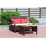 Amazon Com Patio Furniture Handcrafted Outdoor Wicker