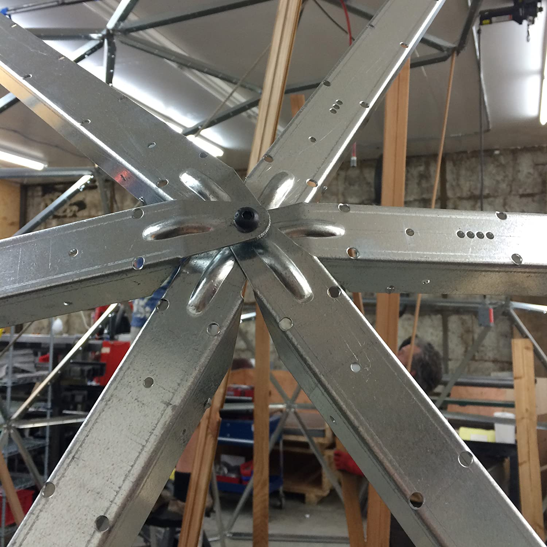 Amazoncom 14 Foot Diameter Geodesic Dome Frame Kit Home Improvement