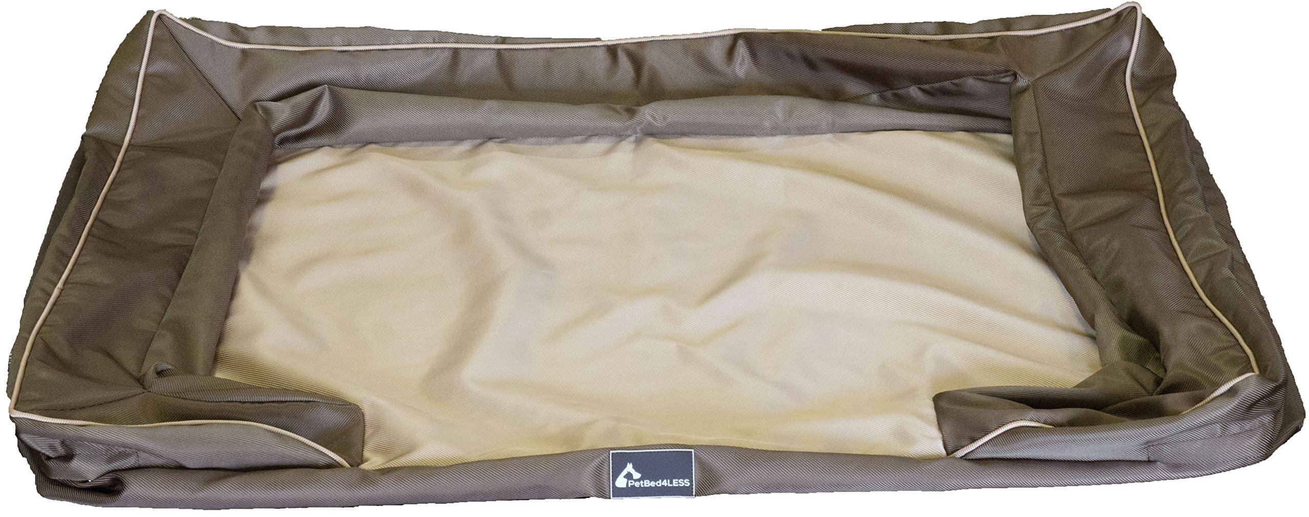 PetBed4Less Deluxe Dog Bed Sofa & Lounge Heavy Duty Removable Zipper Covers