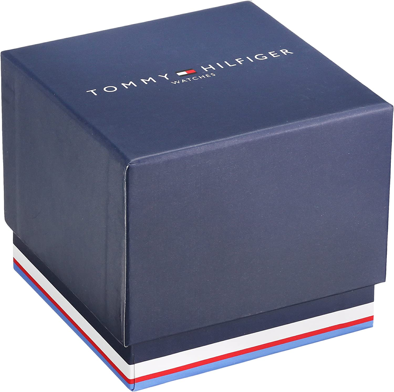 Tommy Hilfiger Men s 1791103 Casual Sport Analog Display Quartz Black Watch