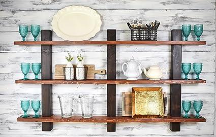 Amazon.com: JNMRustic Designs Shelving, Wood Shelves ...