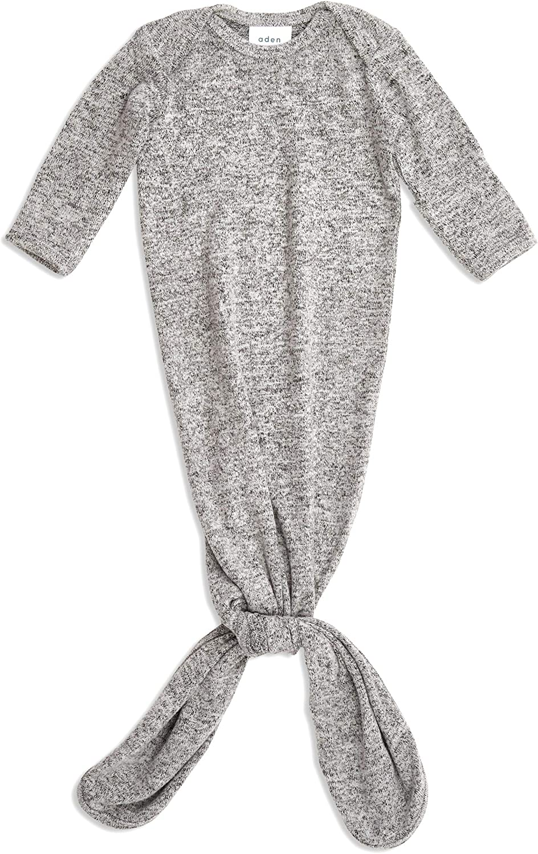 Vestido de Punto con Nudos Jaspeado Jaspeado Gris Anais Snuggle Aden