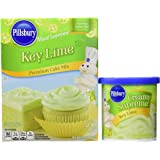 Key Lime Premium Cake Mix and Creamy Supreme Key Lime Frosting (1 each)