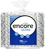 Encore Ultra Paper Plates, 10.06 Inch, 372 Count