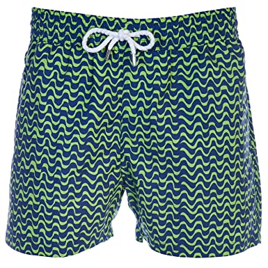 c39a7c5b6ba Amazon.com: Frescobol Carioca Wave Bossa Nova Swim Short in Navy ...