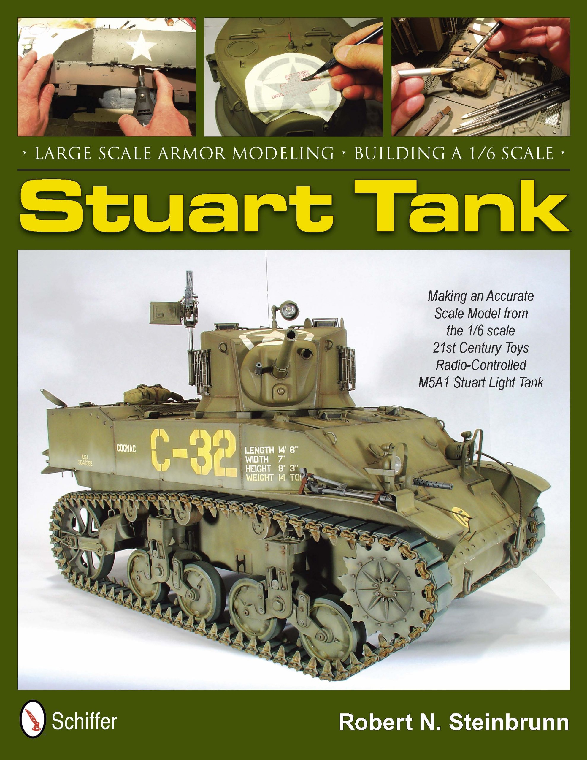 Download Large Scale Armor Modeling: Building a 1/6 Scale Stuart Tank pdf