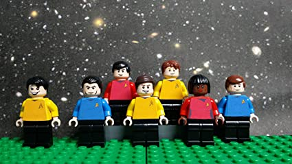 Amazon Com Lego Star Trek Original Series Enterprise Bridge Crew