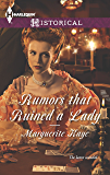 Rumors that Ruined a Lady (The Armstrong Sisters Book 4)