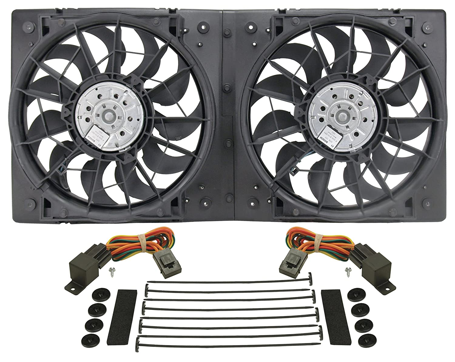 Derale 16928 High Output Dual Radiator Fan