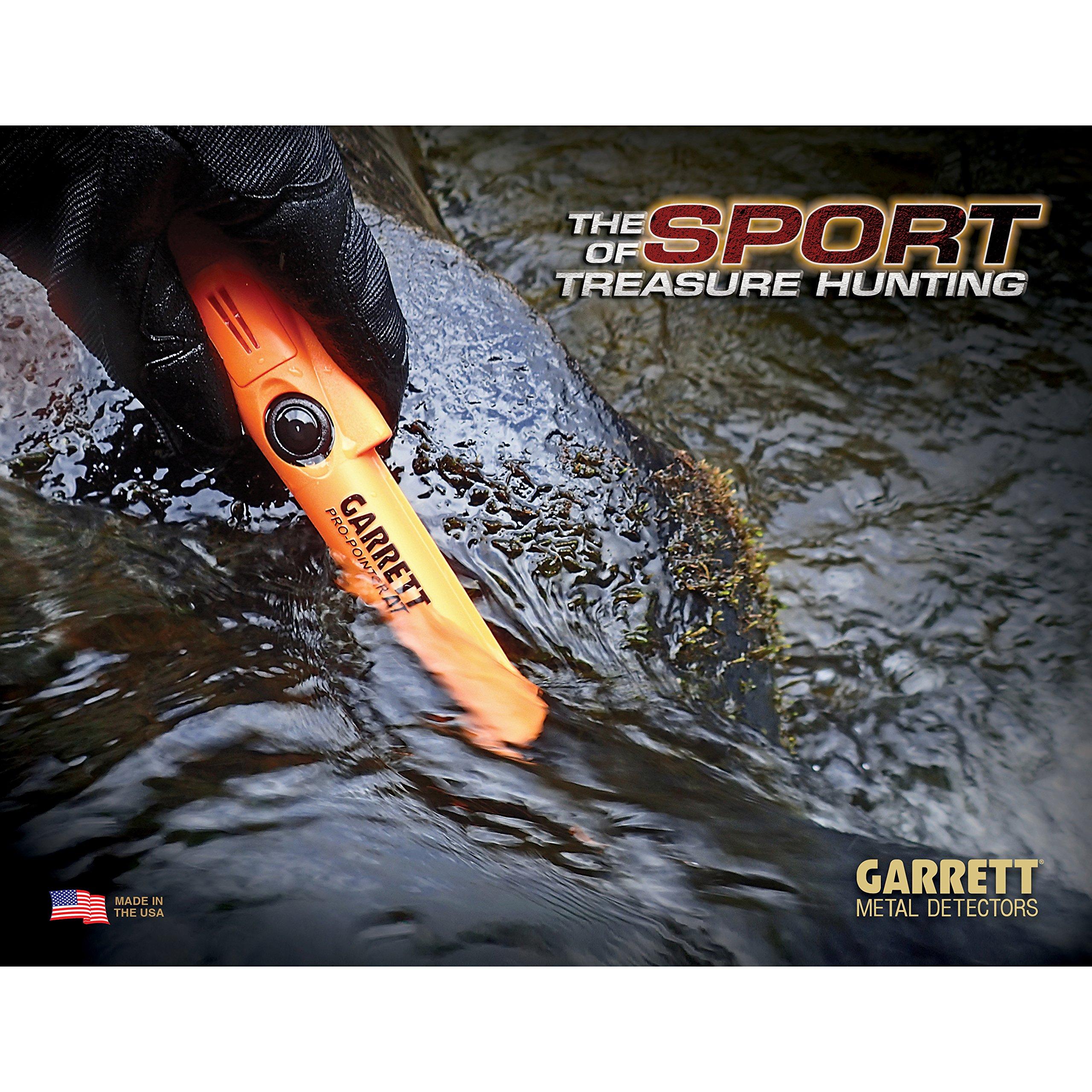 Garrett Pro Pointer ATMetal Detector Waterproof ProPointer with Garrett Camo Pouch by Garrett (Image #4)