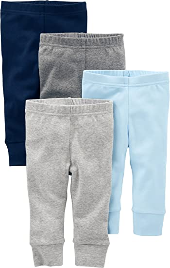 Simple Joys by Carter's Boys' 4-Pack Pant clothing for infants