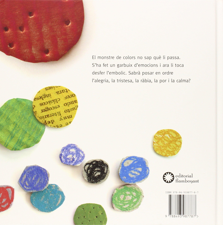 El monstre de colors: Anna Llenas Serra: 9788493987787: Amazon.com: Books
