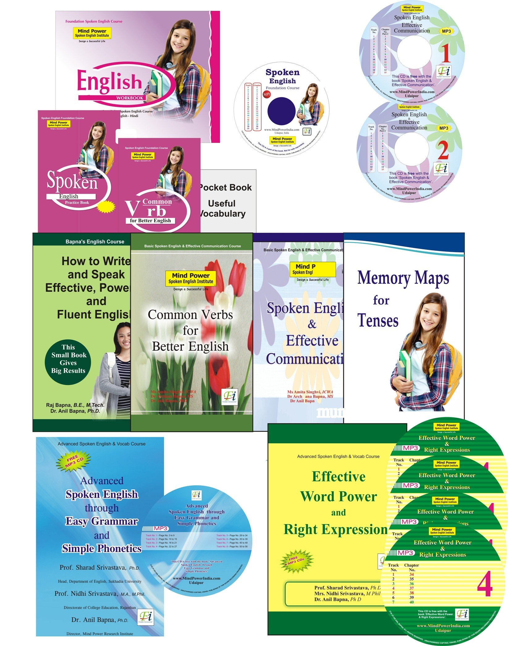 Fluent English Book With 3 Cds