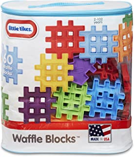 product image for Little Tikes Waffle Blocks Bag (60 Piece)