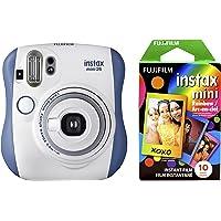 Fujifilm 拍立得 Mini 26 +彩虹胶片套装 - 蓝/白