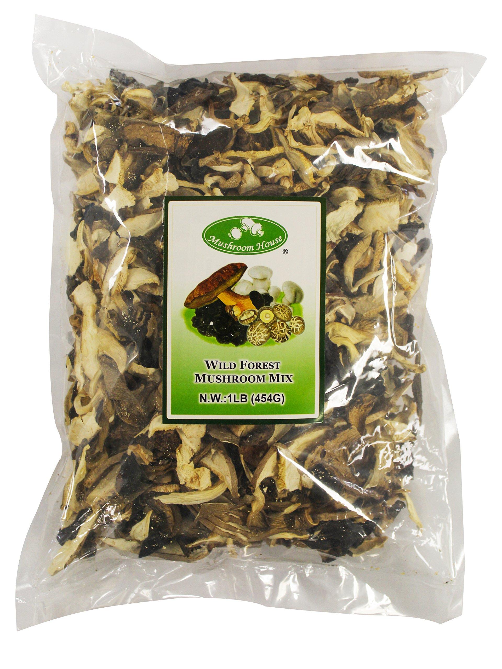 Amazon Mushroom House Dried Shiitake Mushroom Slices 1