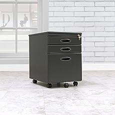 Calico Designs File Cabinet in Black 51100 & Office File Cabinets | Shop Amazon.com