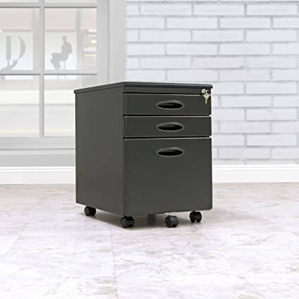 Charmant Calico Designs File Cabinet In Black 51100