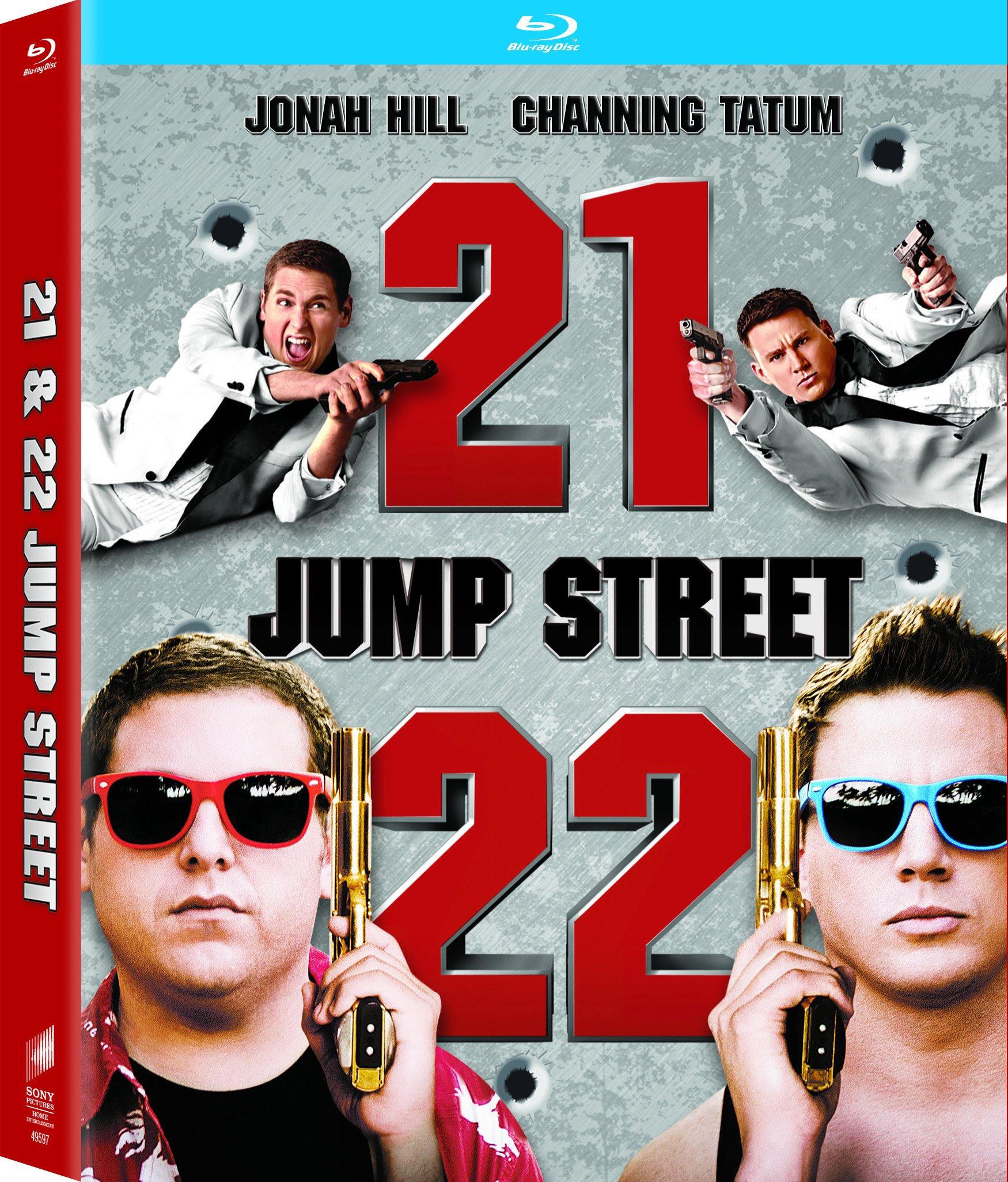 Blu-ray : 21 Jump Street / 22 Jump Street (3 Pack, 3 Disc)