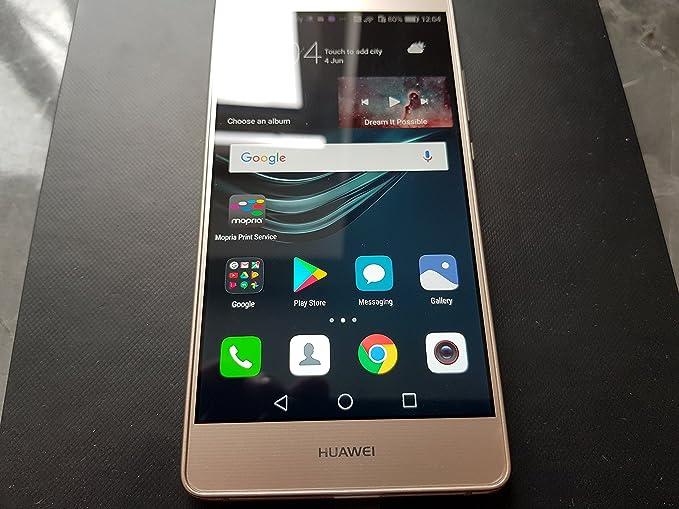 Teléfono móvil Huawei P9 Lite 16 GB 4G Oro – Smartphone (Dual SIM ...