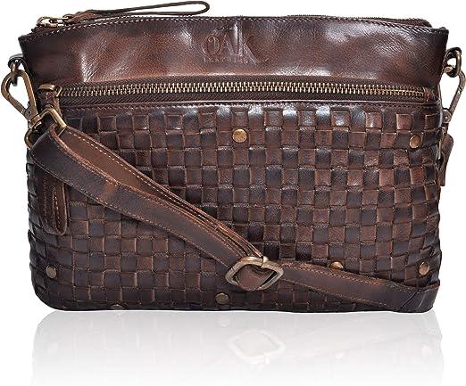 Women Handbag Crossbody Messenger Bag Clutch Shoulder Purse w// Divider Pouch