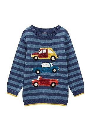 914d863863b595 Next Pull en Crochet À Motifs Voitures (3 Mois À 6 Ans) Bébé Garçon ...