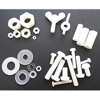 15 tuercas de nailon/plástico para tornillos M4, M5