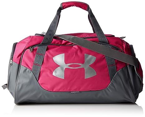43d5d5e593d Under Armor Undeniable 3.0 Duffel - Sports Bag - Unisex - Pink (Tropic Pink)