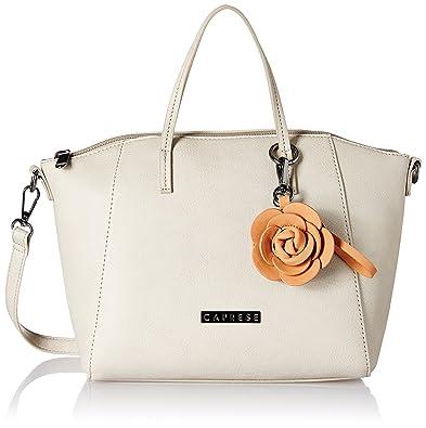 Buy Caprese Kate Women S Satchel Almond At Amazon In