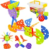 JUMBO Creative Brain Flakes Toddler Toys - Skoolzy Create O STEM Toys For Boys & Girls - 120 Occupational Therapy Sensory Toys Connecting Manipulatives - Building Toys with Storage & Activities eBook