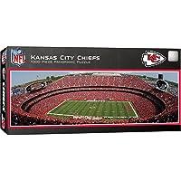 MasterPieces NFL Kansas City Chiefs Stadium Panoramic Jigsaw Puzzle, 1000 Pieces