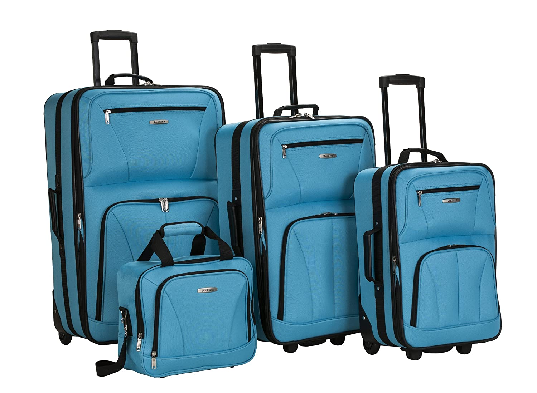 $77 (reg $219) Rockland Luggag...