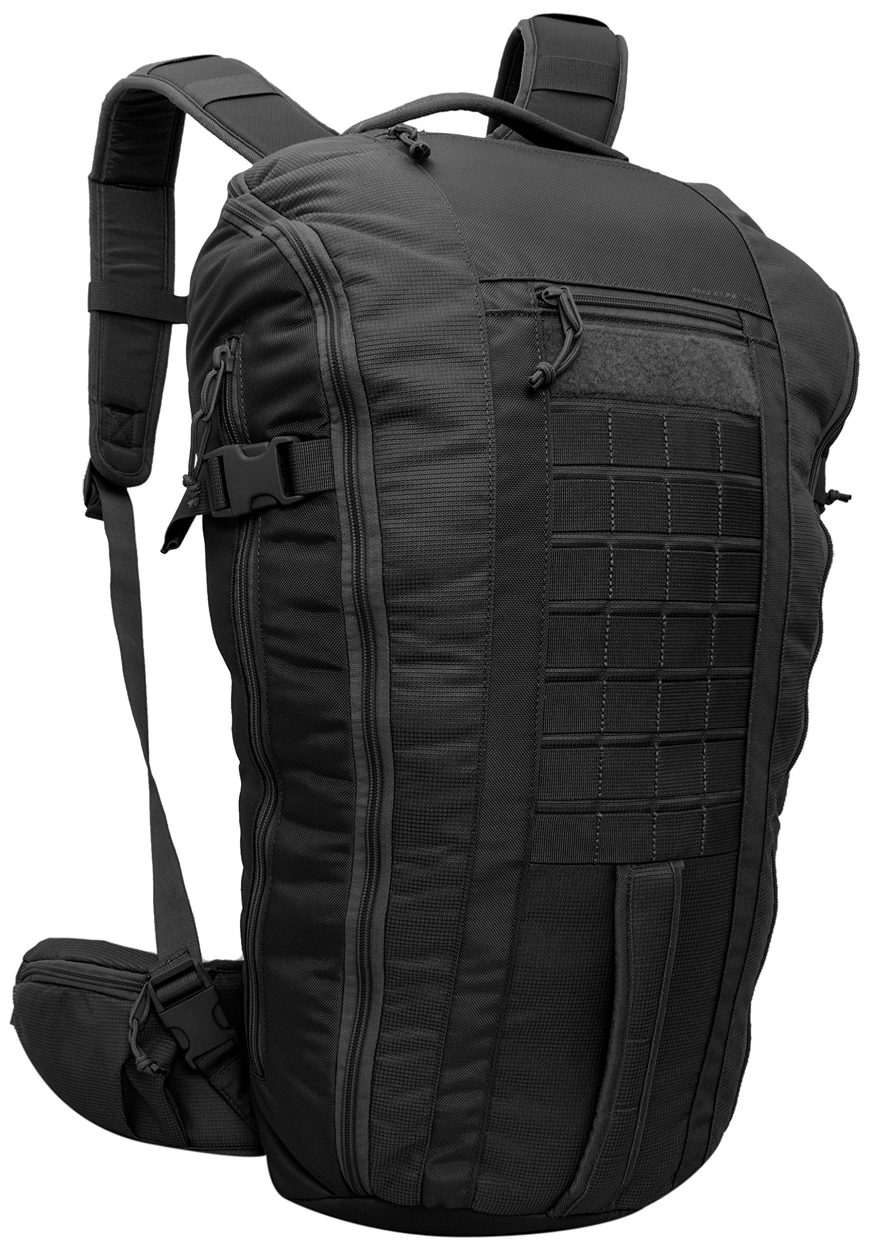 Red Rock Outdoor Gear U.45 Mavrik Backpack, Black