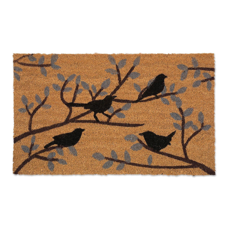 Birds 18x30  DII J & M Home Fashions 4415A Doormat, 18x30, Palm Leaves