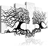 murando – Impression sur toile 200x100 cm - 5 pieces - Image sur toile - Images - Photo - Tableau - motif moderne - Décoration - tendu sur chassis - abstraction abstrait a-A-0104-b-m