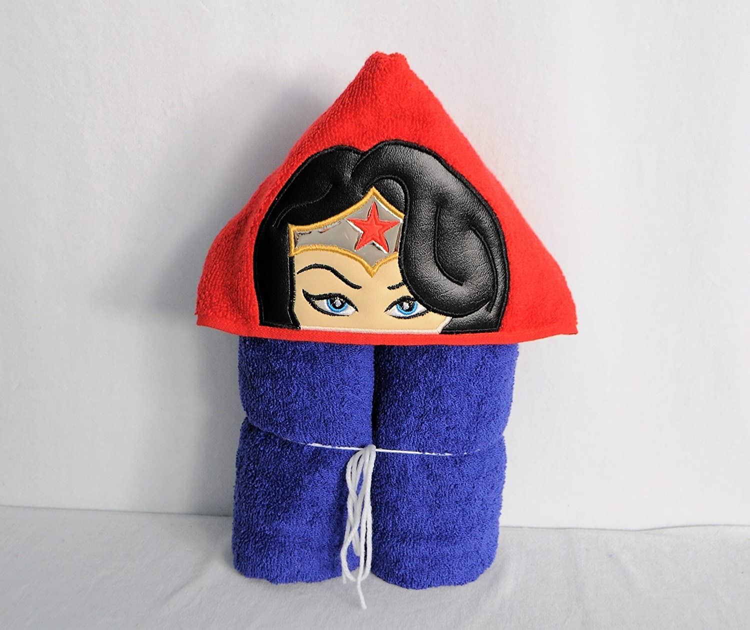 Female Star Super Hero Hooded Bath Towel - Baby, Child, Tween